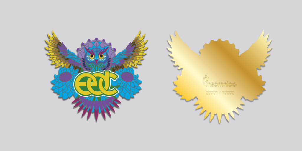 ELECTRIC DAISY CARNIVAL COLLECTIBLE PIN